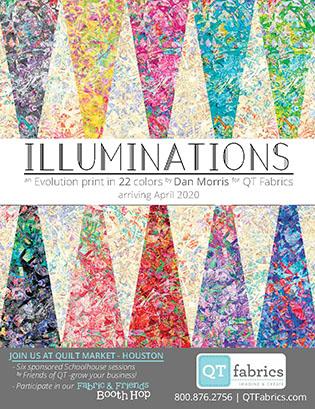 QT Fabrics - Illuminations
