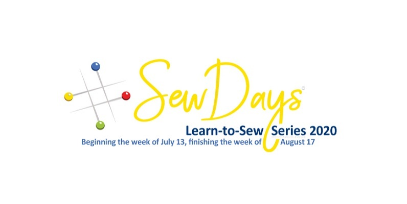 #SewDays starting the week of July 13, finishing the week of August 17, 2020