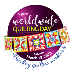 Worldwide Quilting Day, March 20, 2021