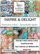 Turtle Hand Batik