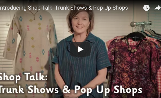 Introducing Shop Talk: Trunk Shows & Pop Up Shops