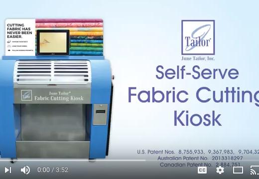 Self-Serve Fabric Cutting Kiosk