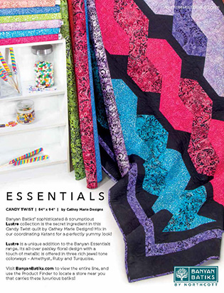 Northcott advertising Essentials by Banyan Batiks