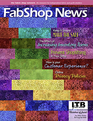 FabShop News Magazine February 2020 Edition - Issue 134