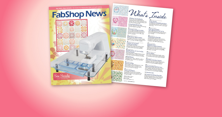 FabShop News Magazine Issue 142