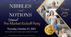 Nibbles -and- Notions, FabShop's Pre-Market Kickoff Party!