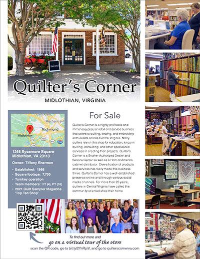 Quilter's Corner